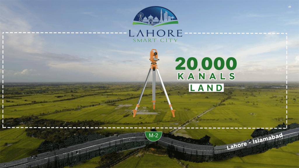 lahore-smart-city-total-land
