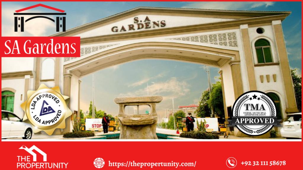 SA Garden Lahore
